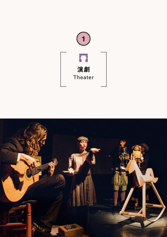 Setagaya-Silk and Teater Sesam